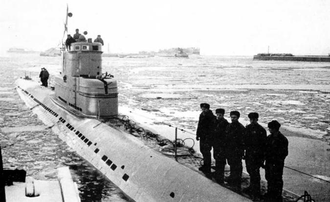 17 submarines in exchange for