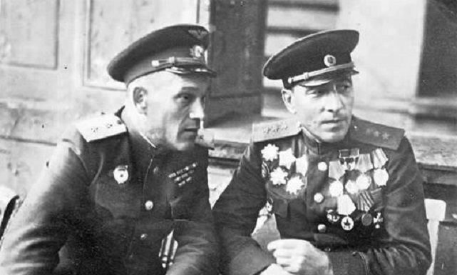A denunciation wrote Georgy Zhukov Marshal of the armored troops Mikhail Katukova
