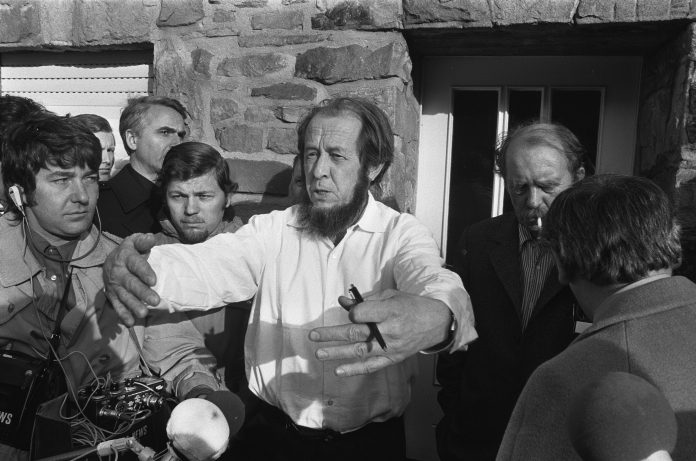 Alexander Solzhenitsyn: and how much money was in European accounts of the writer before his expulsion from the country