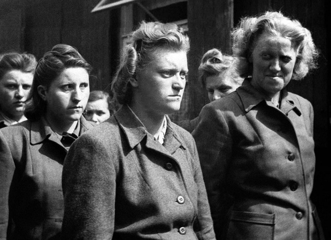 As in the Soviet Union did to captured German women