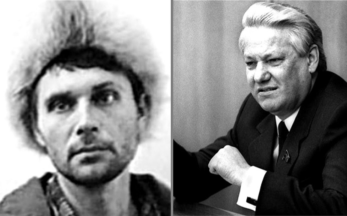 As the Russian officer was preparing the weirdest assassination attempt on Yeltsin
