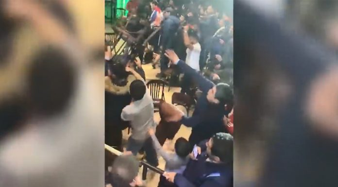 At the Moscow tournament MMA was a mass brawl, and stole the phone