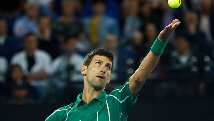Australian Open. Djokovic reached the semifinals where they will play against Federer