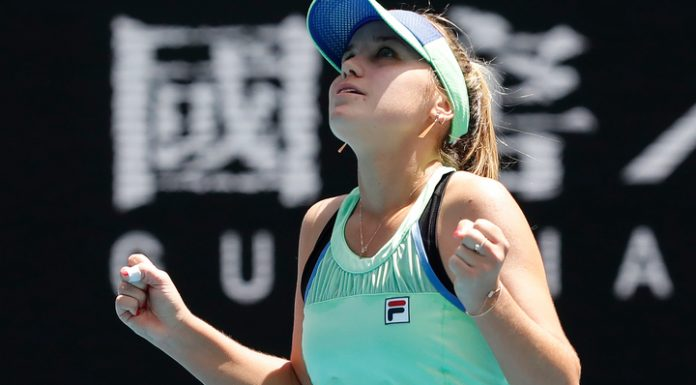 Became the first semifinalist of the Australian Open