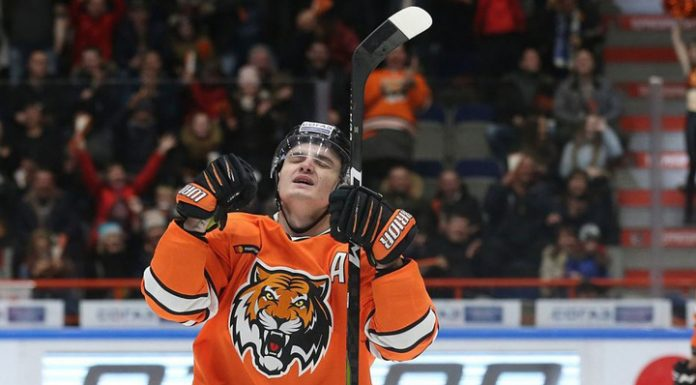"""""""Cupid"""" ended a 9-match series of defeats in the KHL, beating Salavat"""