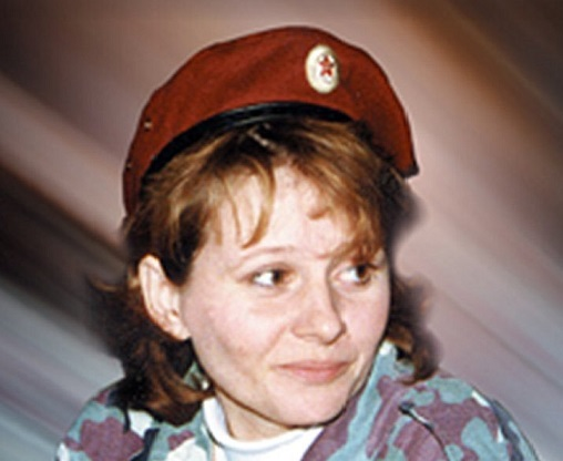 Galina Kalinnikov: as a nurse earned the right to wear maroon beret