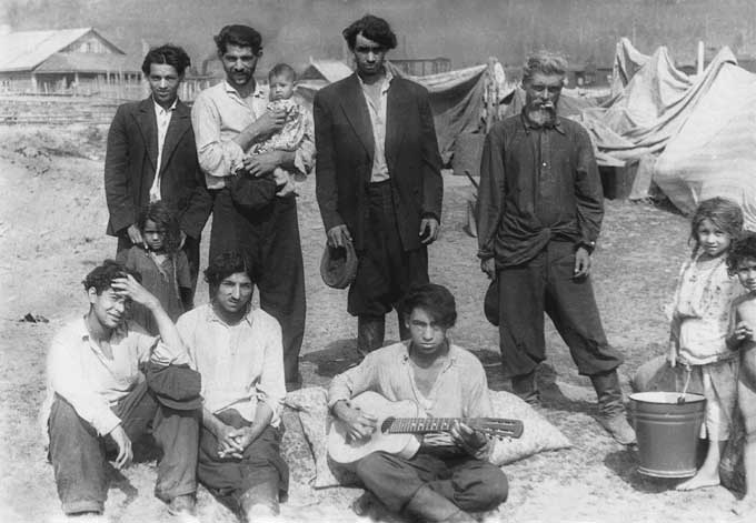 Gypsies and old believers are considered