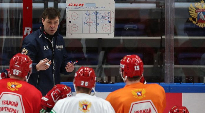 Hockey. Named Russian national team structure on the Swedish stage of the Eurotour