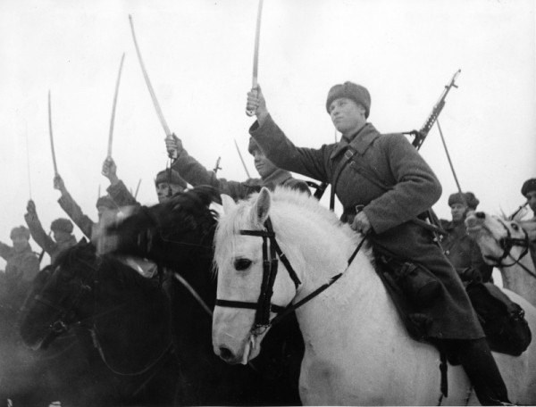 How forbidden under the slogan of fighting the red army in the battle of Moscow