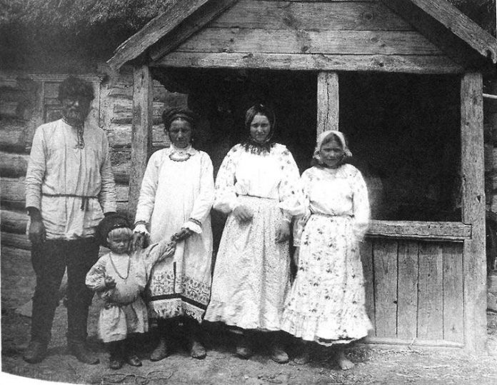 In some cases, the Russian peasants offers guests their wives