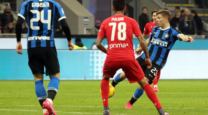 Inter made it to the semifinals of the Italian Cup