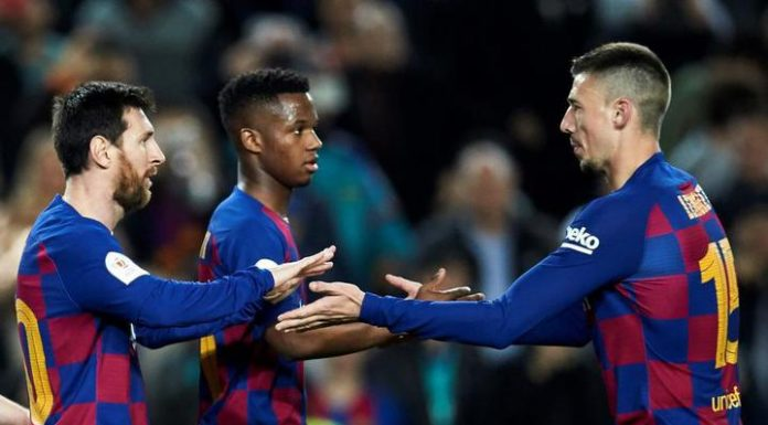 """Messi brace helped Barcelona defeat """"Leganes"""" in the 1/8 finals of the Spanish Cup"""