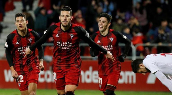 """""""Mirandês"""" from Segunda knocked Sevilla out of the Cup of Spain"""