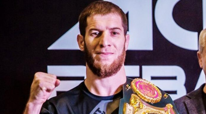 Russian abdulvakhabov will fight with ex-UFC fighter Diaz for the belt of the champion of the ACA