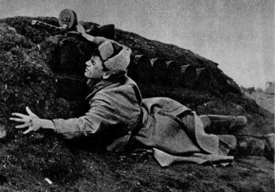 The attack on the Loknya: as the feat of Alexander Matrosov helped the red Army