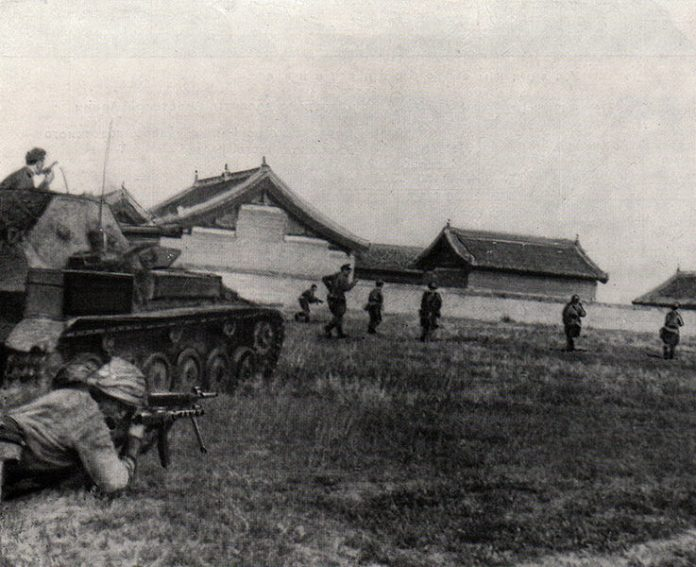 The capture of the Hutou fortress: the last Soviet battle of world war II