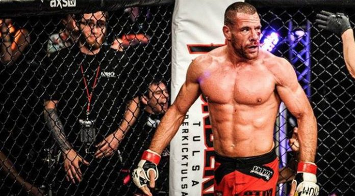 The champion League of mixed martial arts Bellator revealed a brain tumor