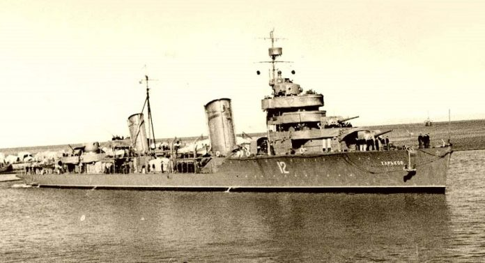 The death of three destroyers: the main tragedy of the black sea fleet