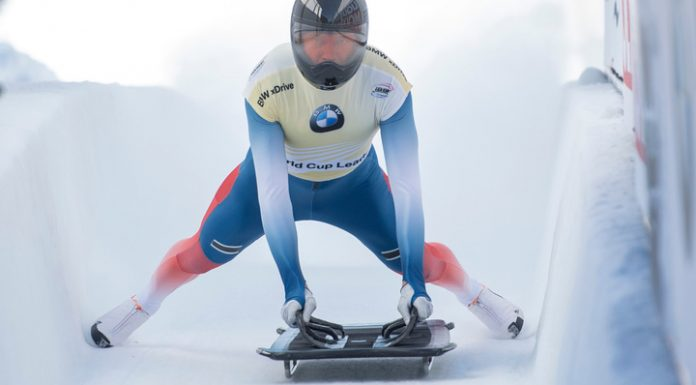 Tretyakov lost the lead in the overall standings of the world Cup skeleton