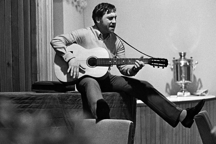 Vladimir Vysotsky: and whether the artist has the