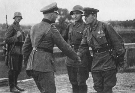 Was there fraternization between soldiers and Germans in the Great Patriotic