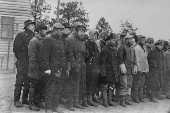 What are the concentration camps built by the Bolsheviks in the Civil war
