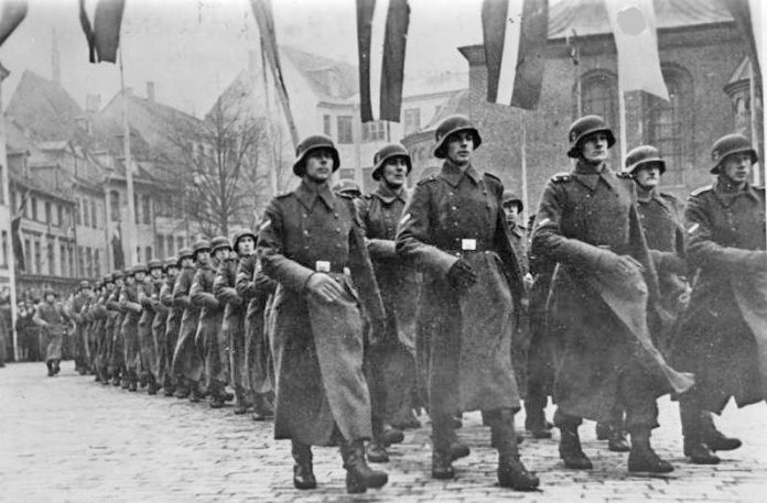 What are the foreign division fought in Hitler's army