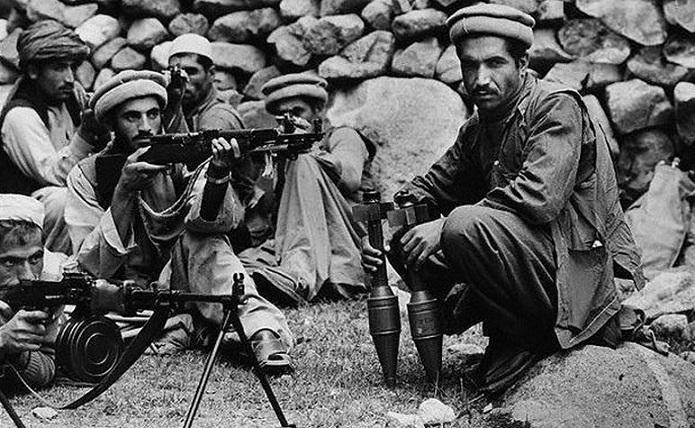 What did the Afghan Mujahideen in the Soviet Union