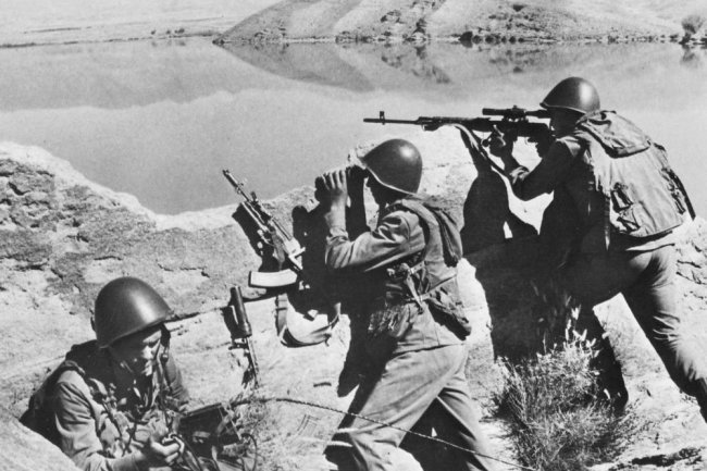 What ended the last battle of the Soviet army
