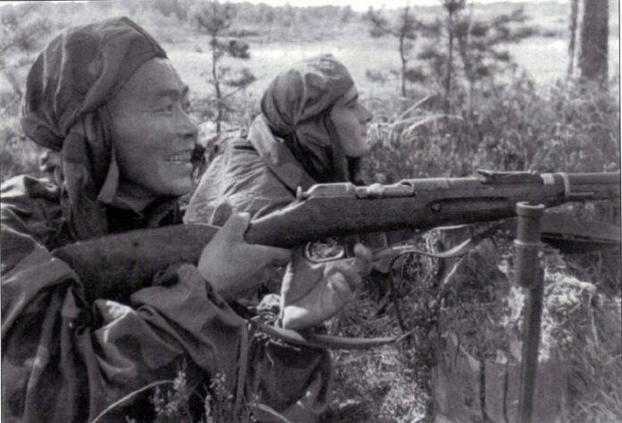 What exact shots were credited to Soviet snipers