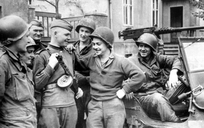 What kind of weapons the red Army, the allies considered to be the best