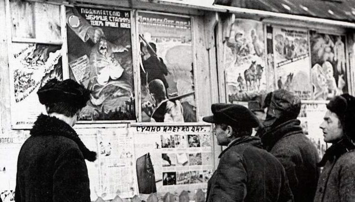What Newspapers I read, Soviet citizens in the German occupation