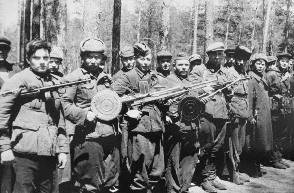 What the Soviet partisans did not pay salaries