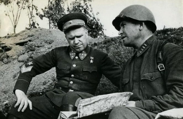What Zhukov assigned the first title of Hero of the Soviet Union
