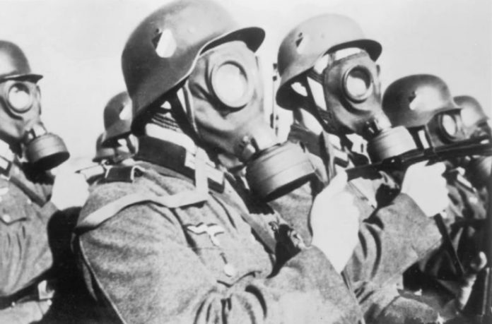 When the Germans used biological weapons against the red Army