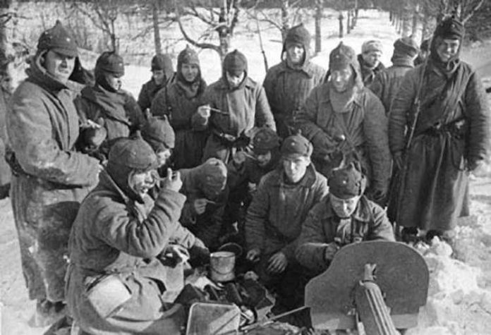 When the Soviet Union was the weakest armed forces