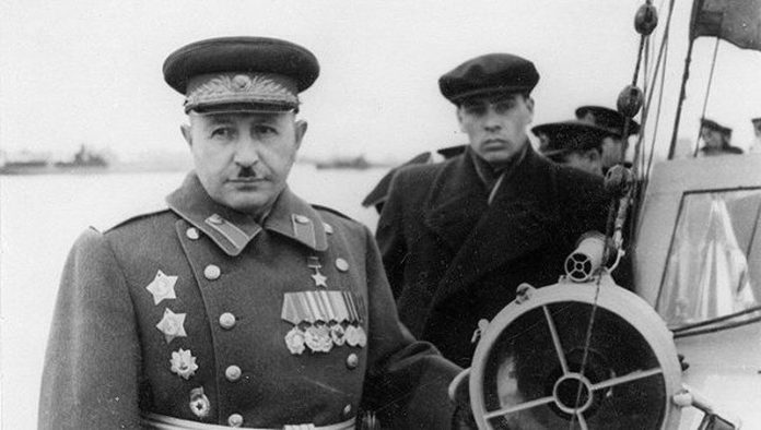 Why Stalin was appointed responsible for the Kharkov disaster of General Bagramyan