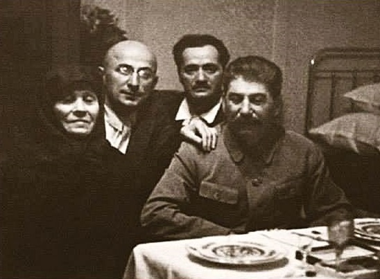 Why Stalin was not at his mother's funeral