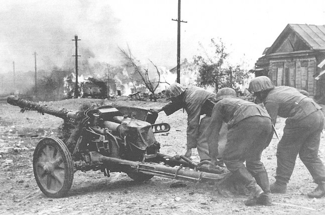 Why the Germans fired on the tanks of the red Army of the Soviet guns