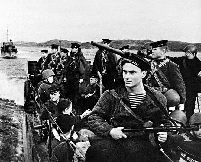 Why the Germans were so afraid of melee battles with the Soviet Marines
