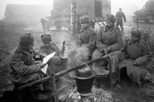 Why the red army at the front could not feed for a few days