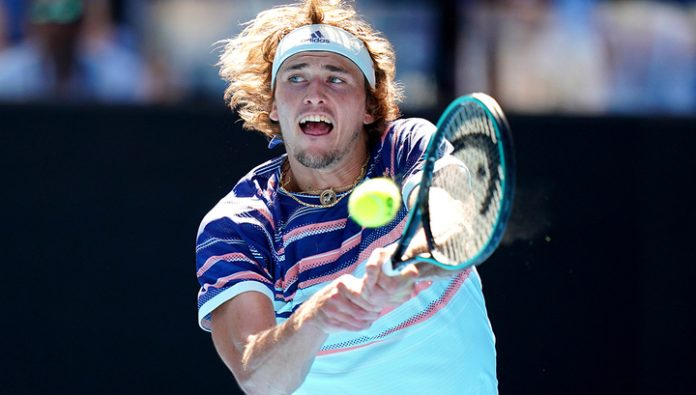 Zverev for the first time reached the semifinals of the Australian Open