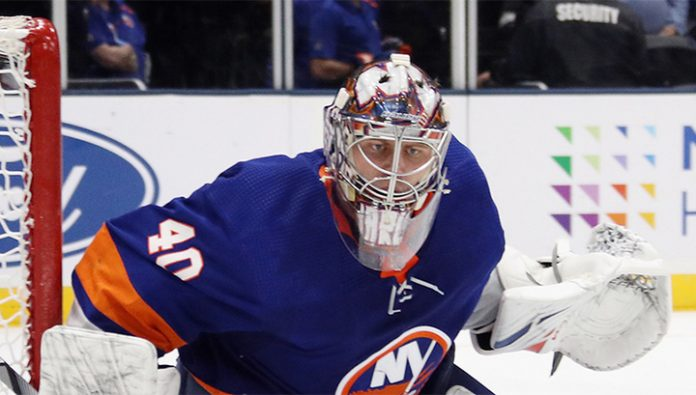 30 salvations Varlamov did not help the islanders in the game with the Arizona