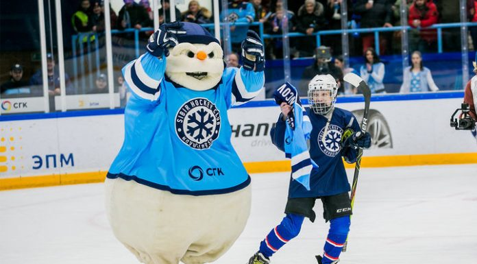 """A dream come true. A teenager from Novosibirsk on the day was the hockey player """"Siberia"""""""