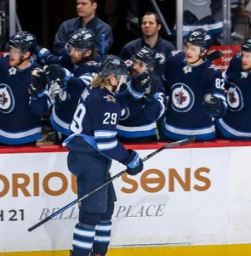 "A hat-trick Laine brought a victory ""Winnipeg"" in the match NHL with ""Ottawa"""