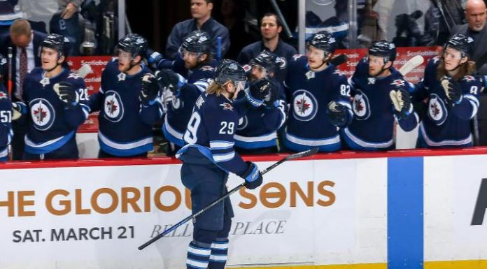 """A hat-trick Laine brought a victory """"Winnipeg"""" in the match NHL with """"Ottawa"""""""
