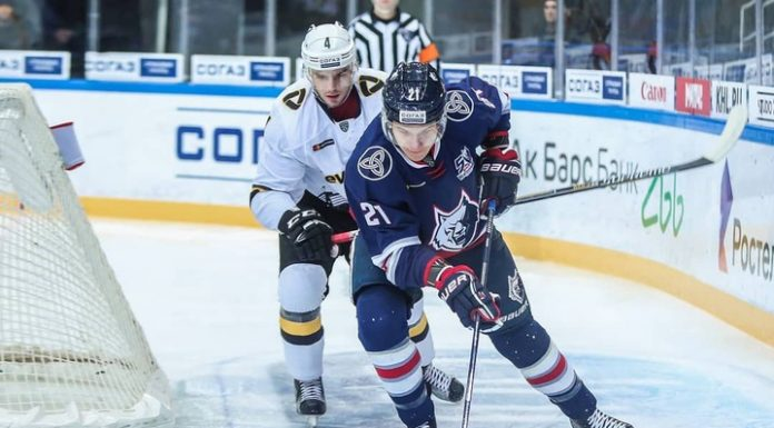"""A hat-trick, Mitchell brought the """"Neftekhimik"""" win over """"Severstal"""""""
