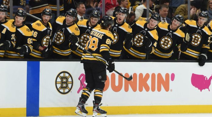 """A hat-trick Pastrnak brought """"Boston"""" defeating """"Montreal"""" Kovalchuk"""