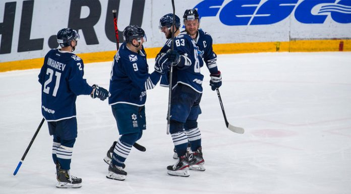 """""""Admiral,"""" interrupted a series of defeats in the KHL"""