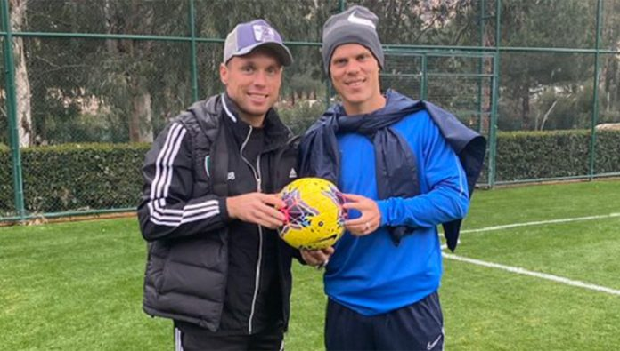 Alexander Kokorin has arrived at the collection of football club
